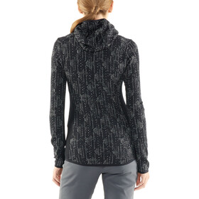 Icebreaker Away Showers LS Zip Hood Damen black